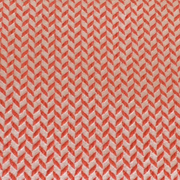RESTSTÜCK Hamburger Liebe This Summer Corn Row Knit Col. 5 Beige Orange Rot