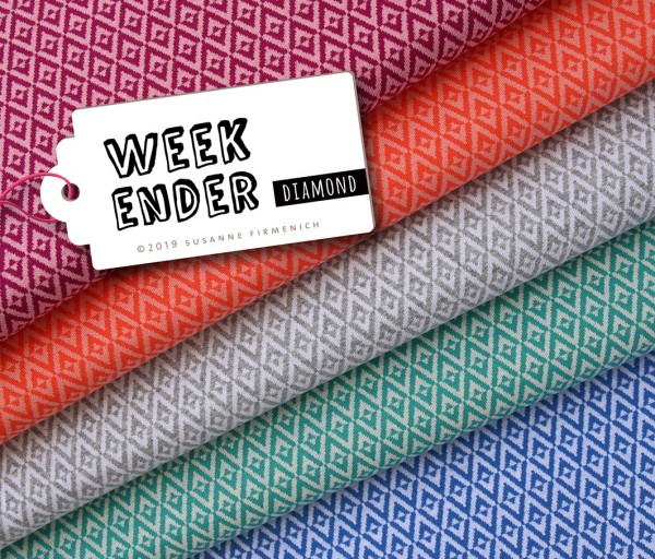 Weekender Diamond 2 Luce Rosso Nude