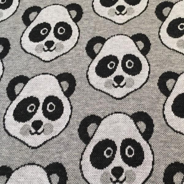 Hamburger Liebe Pandabären Grau