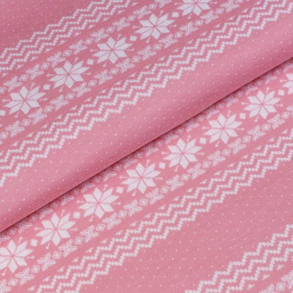 norweger bord re rosa wei stoffbreite biostoffe jersey b ndchen und viele weitere stoffe. Black Bedroom Furniture Sets. Home Design Ideas