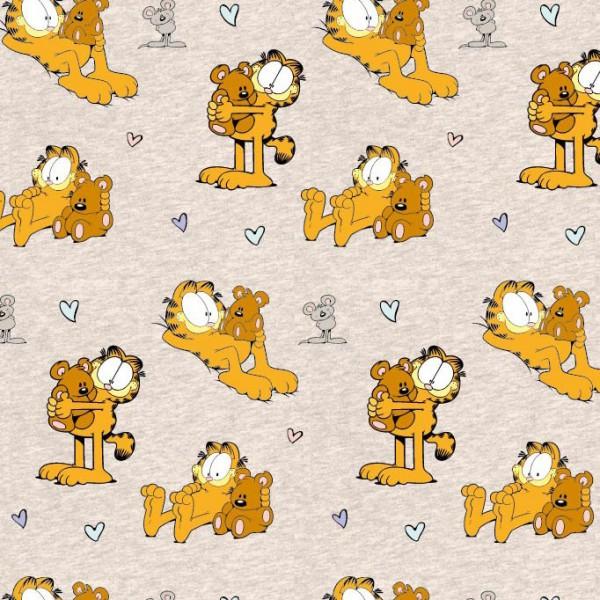 Biojersey Garfield Teddy Beige meliert