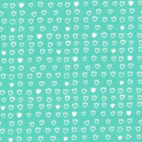 Vignette - Tulip Turquoise