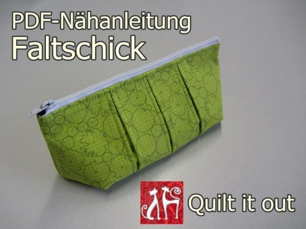 Nähanleitung Faltschick-Tasche Federmäppchen
