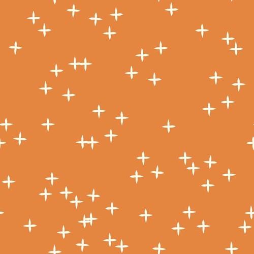 Biostoff Orange Weiß Kreuze