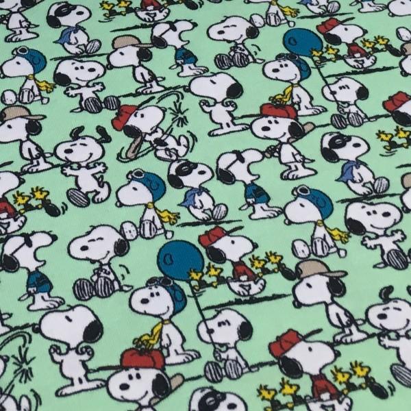Biojersey Snoopy Peanuts Mintgrün