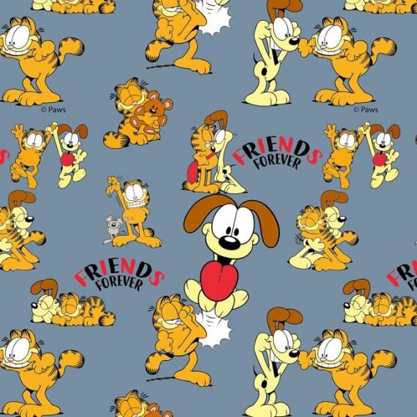 Biojersey Garfield Friends Denim Blau