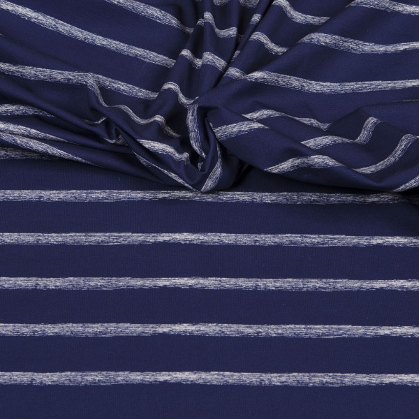 Hilco Jersey Sea Stripes Blau