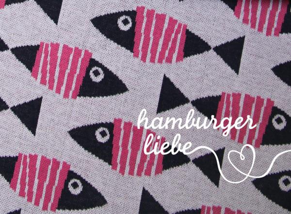 Hamburger Liebe Into The Wild Fische Rosa
