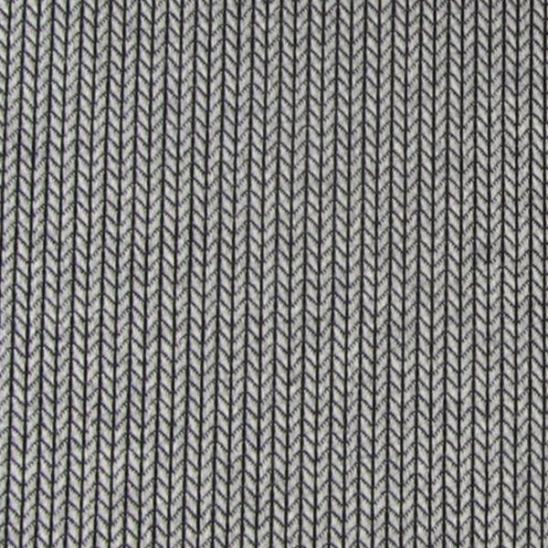 RESTSTÜCK 0,35m Hamburger Liebe Mono Knit Knit Hellgrau