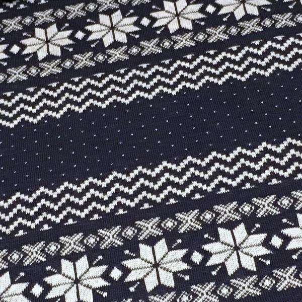 Norweger Bordüre Blau