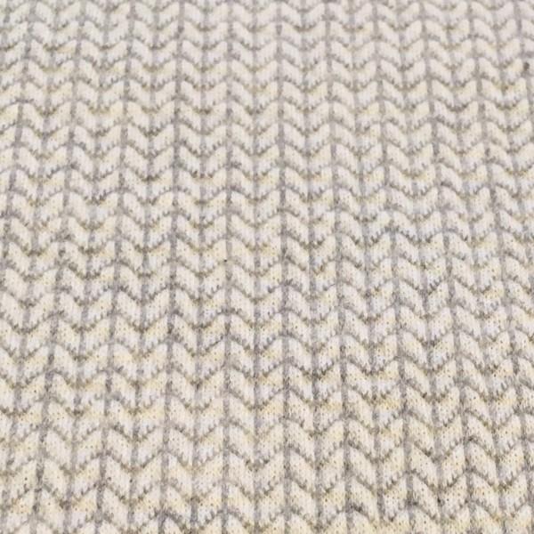 Hamburger Liebe Knit Knit Weiß-Grau