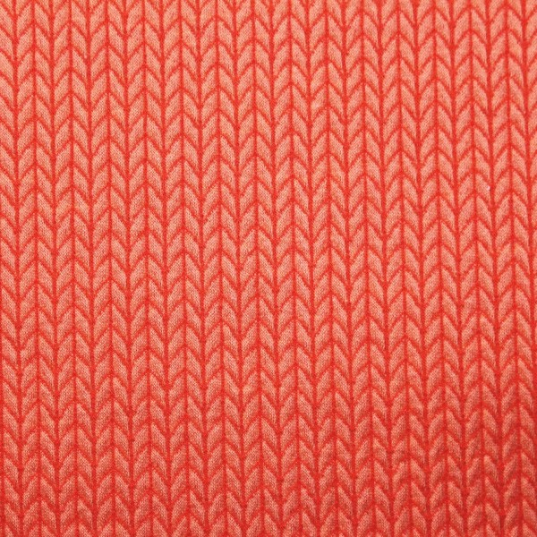 Wanderlust Hamburger Liebe Knit Knit Luce Rosso Flamme