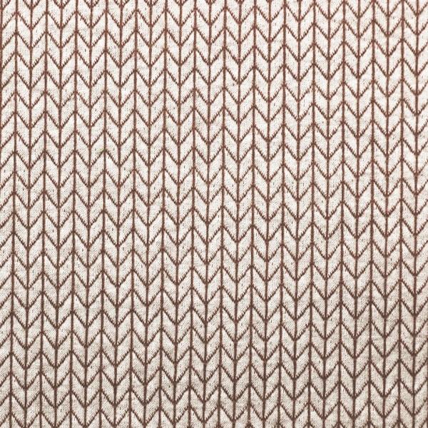 Hamburger Liebe Wanderlust Big Knit Knit Yemen Braun