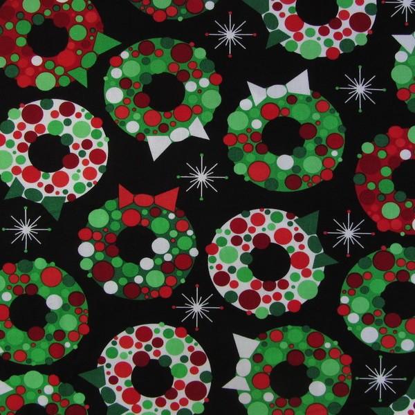 Weihnachtskränze - Retro Christmas Holiday