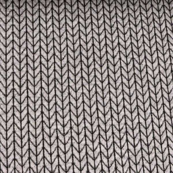 RESTSTÜCK 0,75m Hamburger Liebe Big Knit Knit Hellgrau