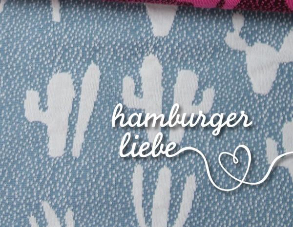 Hamburger Liebe Into The Wild Kaktus Blau