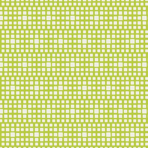 Gelb Grün Weiß Patchworkstoff Stoff Karo