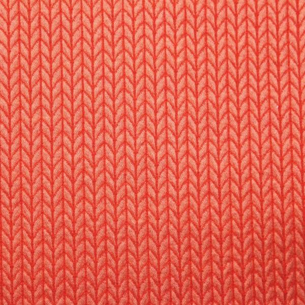 Wanderlust Hamburger Liebe Big Knit Knit Luce Rosso Flamme