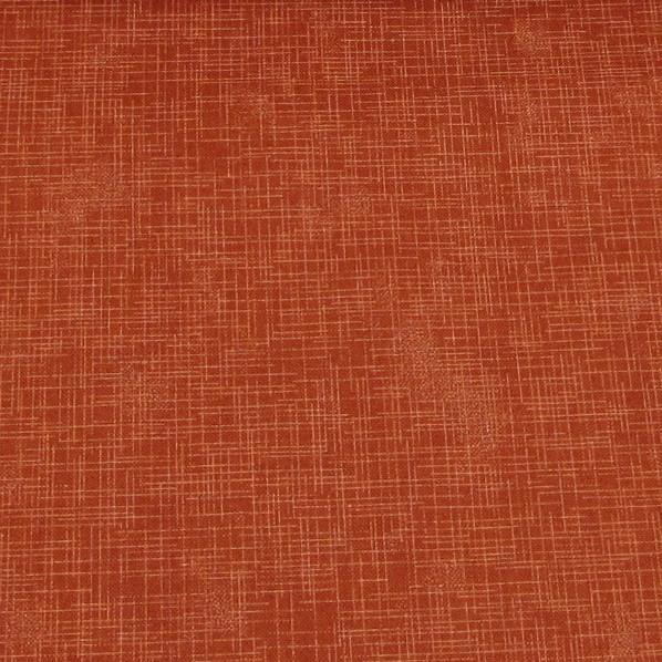 Quilters Linen Print - Russet