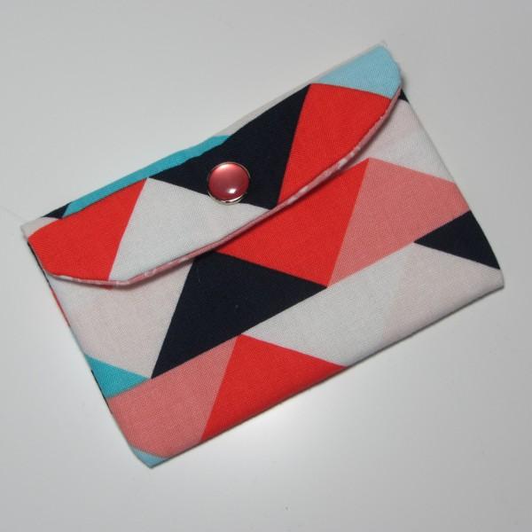 Kartentasche Dreiecke