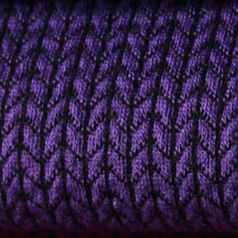 Hamburger Liebe Hipster Square Knit Knit Lila