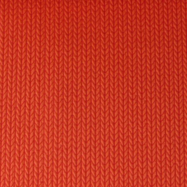 Mono Hamburger Liebe Big Knit Knit Rot